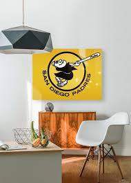 1980 San Diego Padres Logo Wall Art Row One Brand