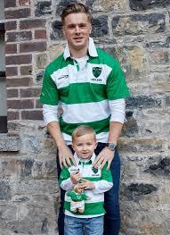 ireland stripe rugby shirt short