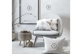 decorative objects mockup wallpaper