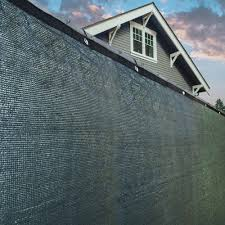Shop Aleko Green 8 X50 Outdoor Windscreen Fence Privacy Screen With Grommet 8 Feet Tall X 50 Feet Long Overstock 17847767