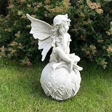 large 12 fairy garden statue ornament