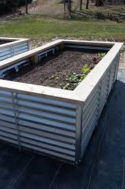 galvanized steel raised beds