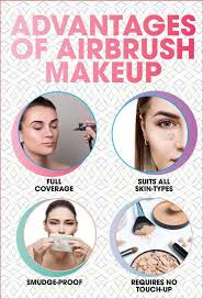 advane of airbrush makeup techniques