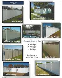 Vinyl Privacy Fencing Affordable Commercial Quality Grade Fence Supply Online