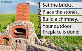 learn how to build an outdoor fireplace