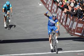 Julian Alaphilippe pounces on Santa Caterina to win Strade Bianche