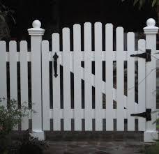 Picket Fence Gate Garden Gate Design Fence Design White Picket Fence House