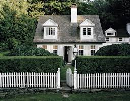 Awesome White Picket Fence House Princeton Tory