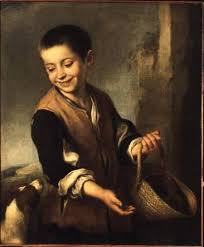 El niño y el perro - Bartolomé Estéban Murillo en reproducción ...