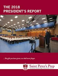 The 2018 President's Report by Saint Peter's Prep - issuu