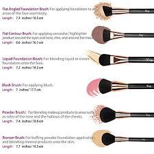 qivange makeup brushes soft cosmetic