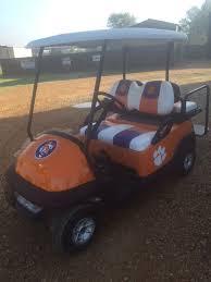College Team Custom Golf Carts Southeastern Carts Accessories Custom Pre Owned Golf Carts
