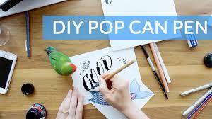 diy folded ruling pen homemade pop