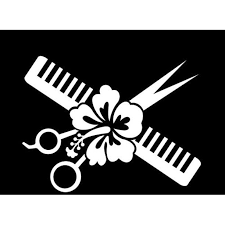 Hair Cut Stylist Hairstylist E066 Beauty Parlor Salon Car Window Wall Vinyl Decal Sticker Scissor 6 E066 Walmart Com Walmart Com