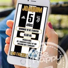 Be Happy Tarjeta De Invitacion Digital Invitaciones Digitales