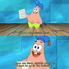 be inspired on love u patrick patrickstar spongebob