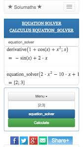 solumaths web mathematics