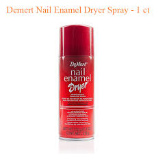demert nail enamel dryer spray 1 ct
