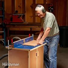 Simple Diy Router Table Plans Family Handyman