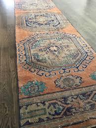 vintage turkish rug runner 2 7 x 12 1