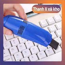 Máy hút bụi mini đầu cắm USB vệ sinh laptop nukata_f
