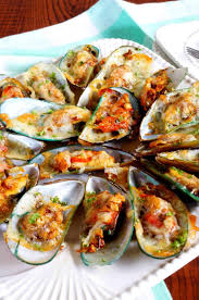Easy Baked Mussels Recipe - Sweet Pea's ...