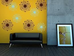 Amazon Com Atomic Star Wall Decals Atomic Starburst Mid Century Modern Wall Decals Retro Wall Decals Mad Men Style Decor New Years Decorations Handmade