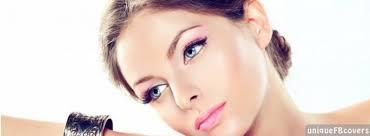 pink makeup facebook covers