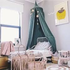 Fashion Nordic Style Dome Mosquito Nets Curtain For Bedding Set Princess Bed Valance Bed Netting Kids Room Decor Wish