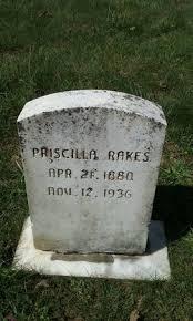 Priscilla Harris Rakes (1880-1936) - Find A Grave Memorial