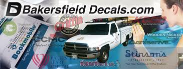 Bakersfield Decals Custom Inexpensive High Quality Vinyl Decal Stickers
