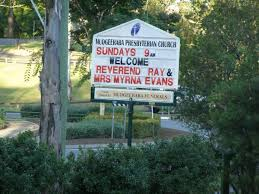 Ray & Myrna EVANS; Mudgeeraba Presbyterian Church, City of Gold Coast