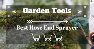 best hose end sprayers