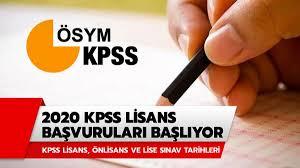 KPSS lisans başvuruları başlıyor! KPSS lisans sınavı ne zaman ...