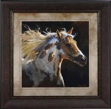 spirit horse framed art