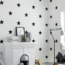 Black White Star Baby Nursery Wallpaper For Kids Room Neutral Boys Girls Wall Paper For Children Bedroom Coverings Decor Cellphone Wallpapers Cheap Wallpaper From Xiuping2 44 43 Dhgate Com