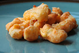 garlic and dill fried cheese curds