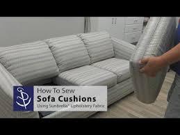 how to sew sofa cushions you