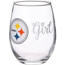 Pittsburgh Steelers 15oz Girl Stemless Tumbler