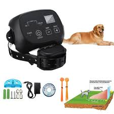 Waterproof Pet Training Wireless Dog Fence System Anti Bark Collar One Dog Buy At A Low Prices On Joom E Commerce Platform