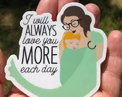 Babywearing Sticker Etsy