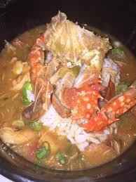 Seafood gumbo. Crab/Shrimp/Crawfish ...