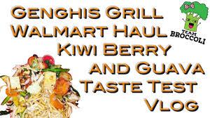 genghis grill walmart haul kiwi