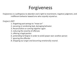 forgiveness powerpoint presentation
