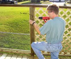 Building A Privacy Screen For Your Deck Better Homes Gardens