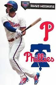 Rhys Hoskins Philadelphia Phillies Logo Fathead Teammate Sticker Wall Decal 17 Ebay