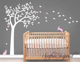 Wall Decal Nursery Wall Decals Tree Decal With Adorable Etsy