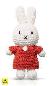 miffy handmade crochet and her red
