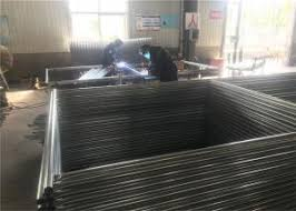 8ft X 14ft Construction Security Chain Link Portable Fence Panels For Sale Cyclone Fence Panels Manufacturer From China 108216821