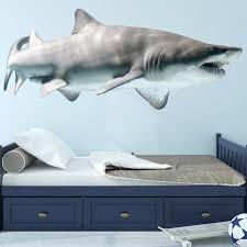 East Urban Home Realistic Shark Wall Decal Reviews Wayfair